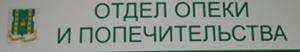 разрешение органов опеки