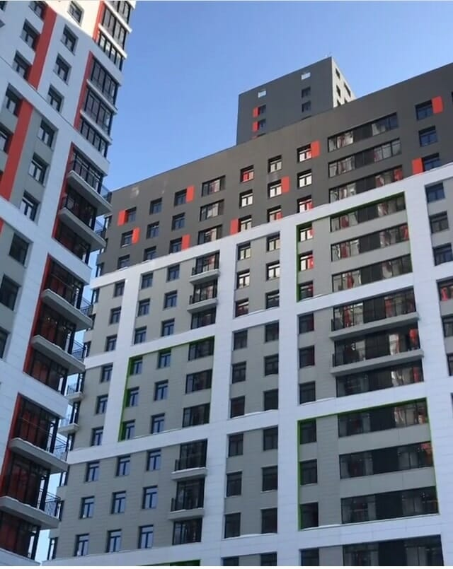 квартиры на этапе строительства