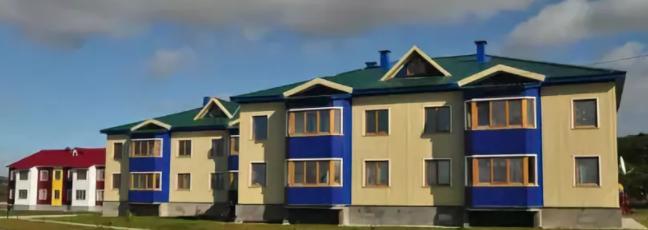 На Курилах активно строится арендное жилье