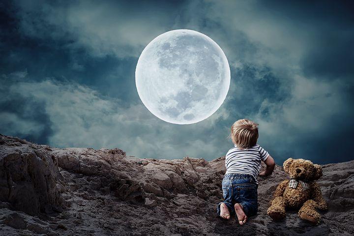 земля на луне