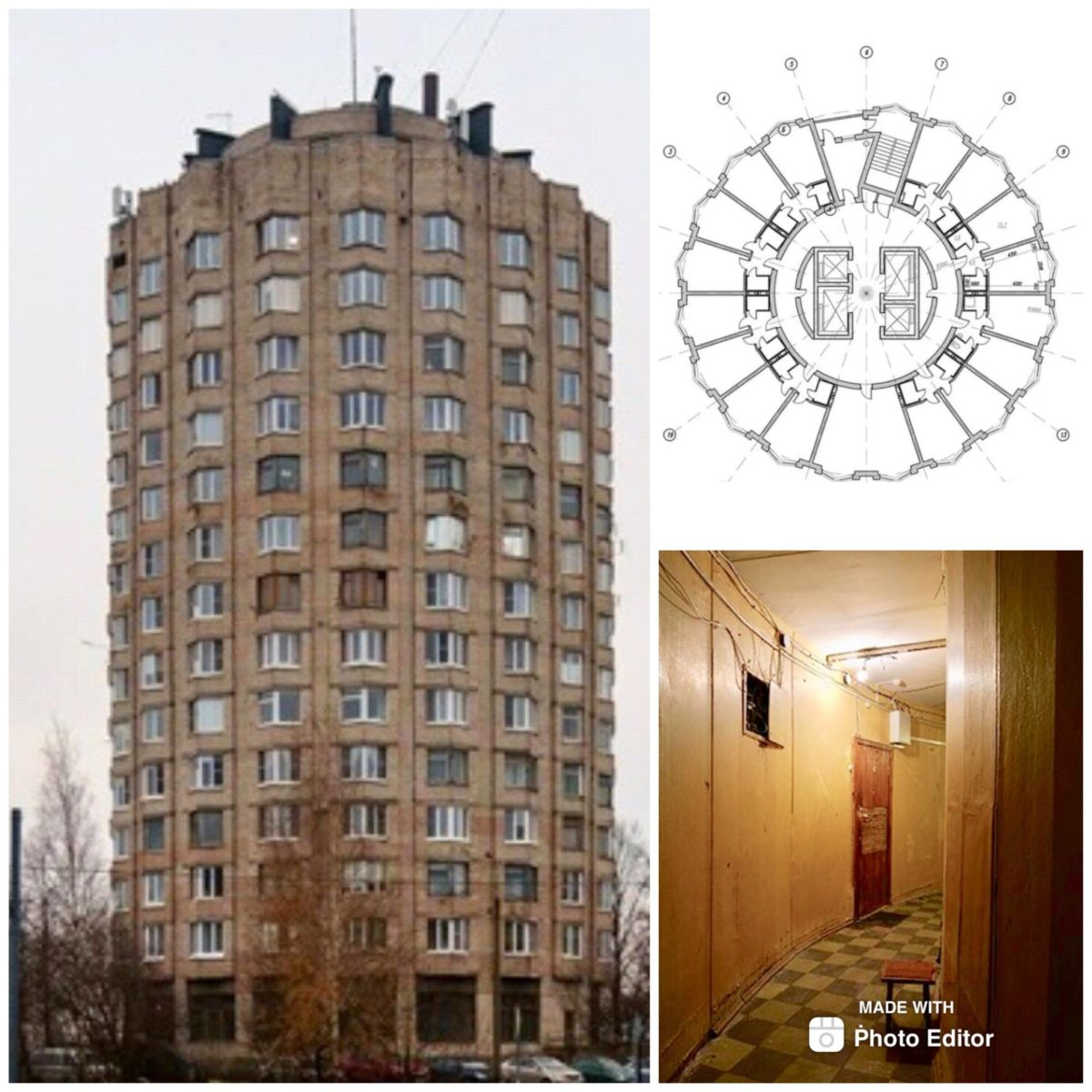 Дом – стакан в Санкт-Петербурге. Интересные дома России