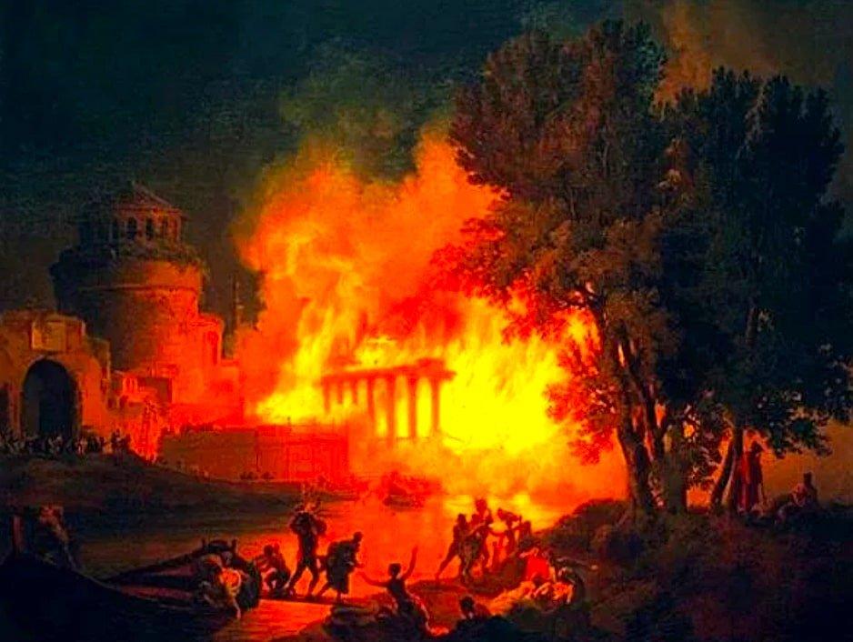 История Древнего Рима. Про недвижимость, пожары и ушлых людей