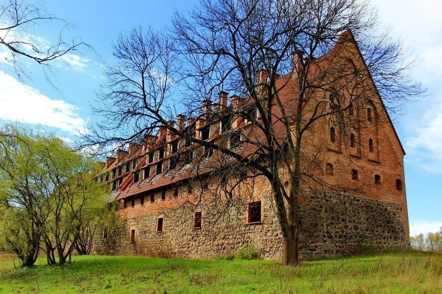 В Калининградской области продают тевтонский замок