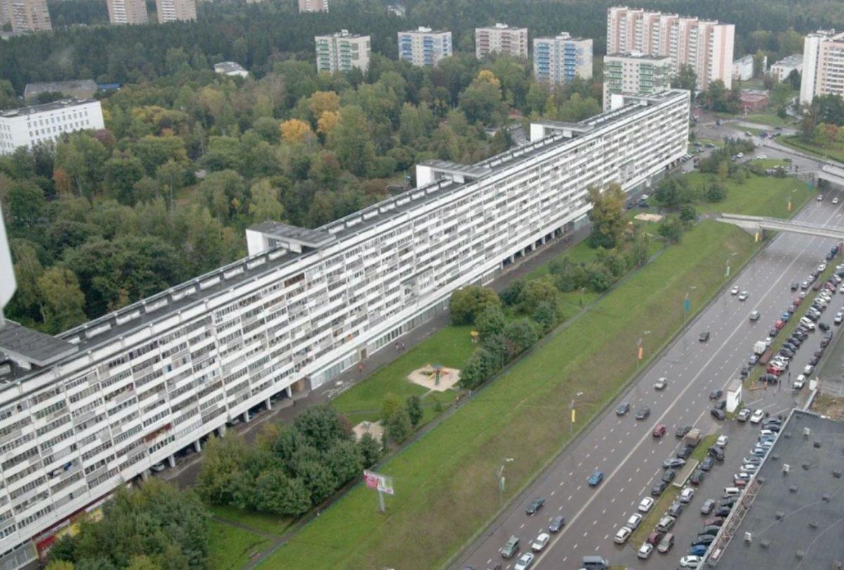 Дом длиной 1 километр или самые длинные жилые дома Москвы